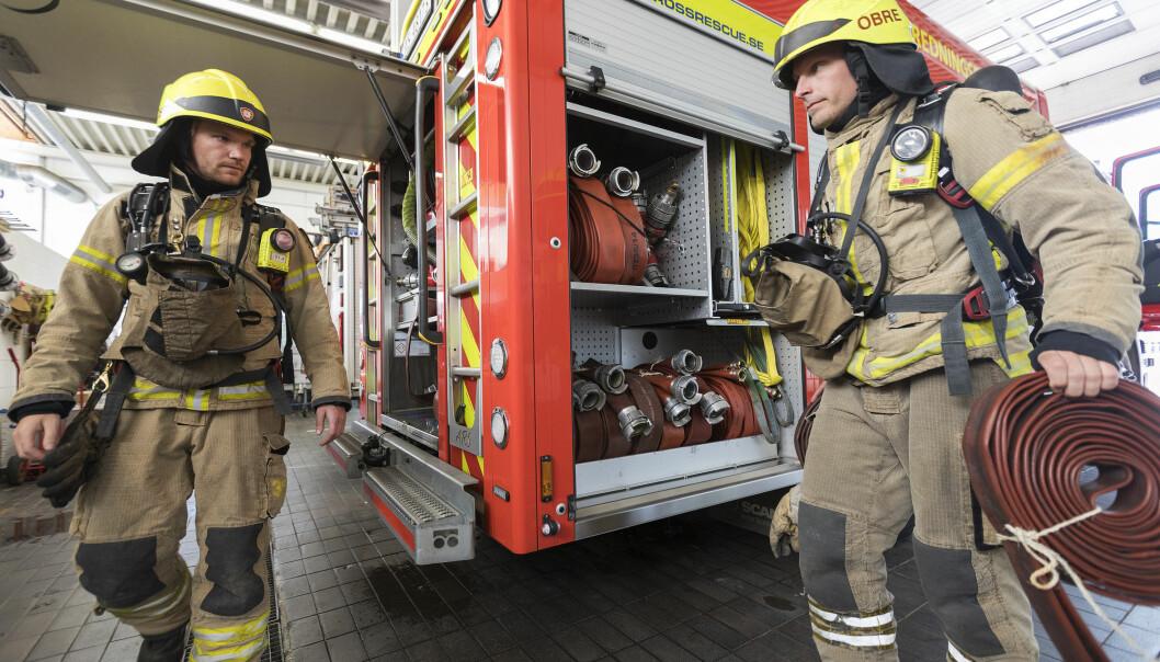 Mange av brannmennene brukte ord som nærhet og omsorg når deskulle beskrive arbeidsmiljøet sitt.  (Illustrasjonsbilde: Gorm Kallestad / NTB scanpix)