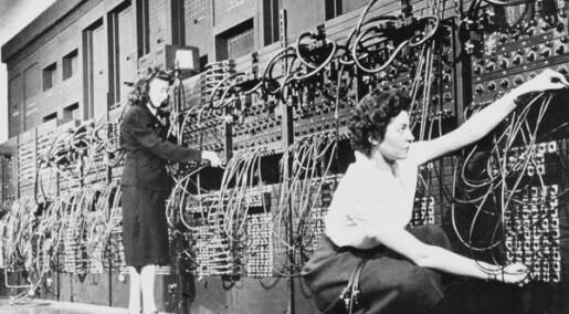 Hvem hadde trodd at programmering skulle bli noe for menn?