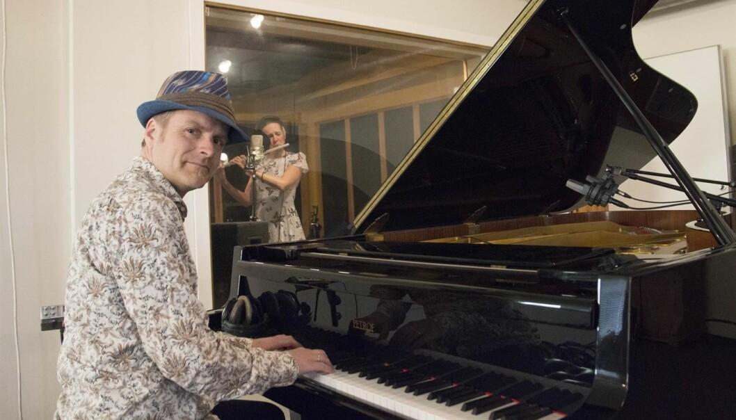 Jon Vegard Schow blir førstelektor i musikk ved NLA Høgskolen. (Foto: NLA)