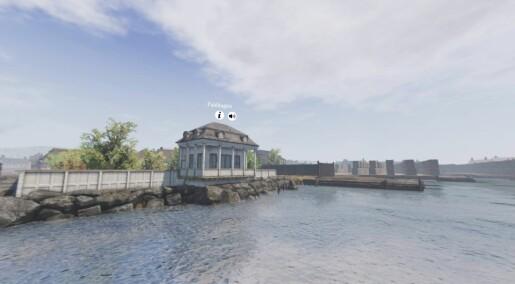 Se Oslo havn slik den var på slutten av 1700-tallet