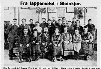 Trønderske aviser viste respekt for samene