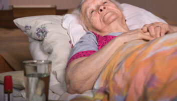 –Man skal ikke holde tilbake nødvendig smertebehandling, men det vi har sett er at det smertestillende stoffet buprenorfin kan forverre symptomer hos enkelte pasienter, sier forsker bak ny studie. (Illustrasjonsfoto: Shutterstock / NTB Scanpix)