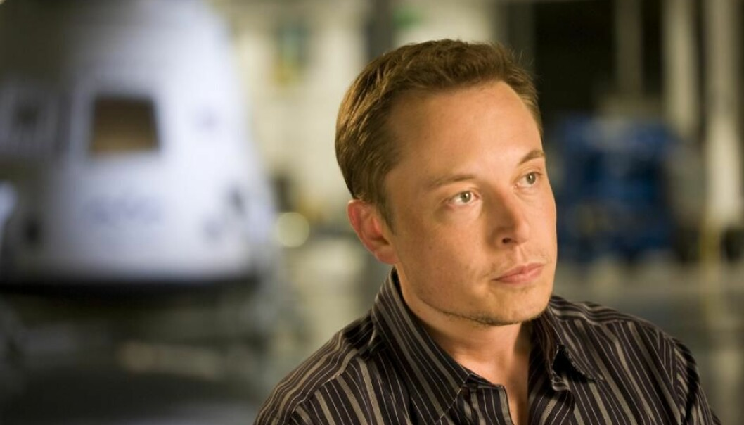 Elon Musk får uten tvil mange geniale ideer, men får han også tullete ideer?  (Foto: OnInnovation)