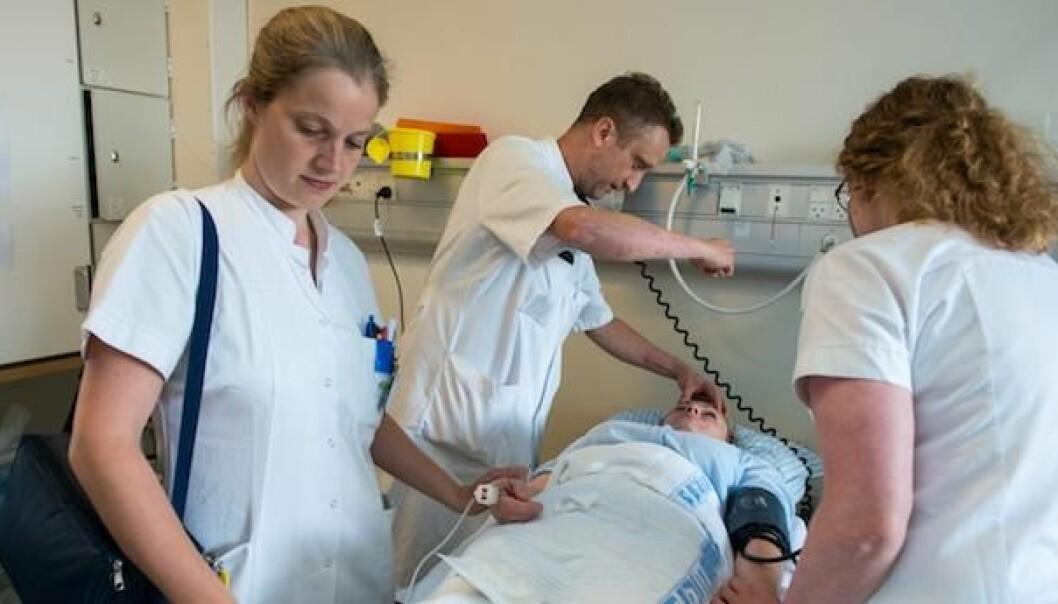 Blodpropp i hjernen kan gi hjerneskader og handikap hvis det ikke behandles raskt.  (Foto: Dansk Stroke Center)
