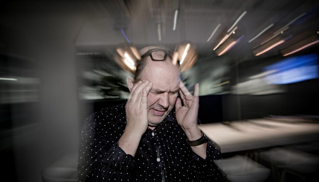 Den første medisinen designet for å forebygge migrene ble godkjent i USA torsdag. Eksperter tror på en ny æra i migrenebehandling, men prisen er høy.  (Foto: Thomas Winje Øijord / NTB scanpix)