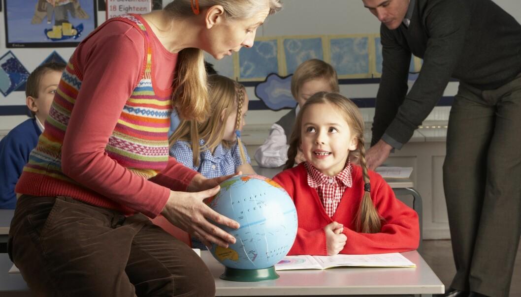 Kan ein læra engelsk av geografilæraren?