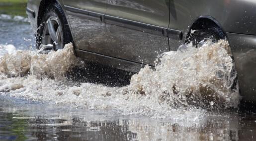 – Norske byer tåler ikke store regnskyll