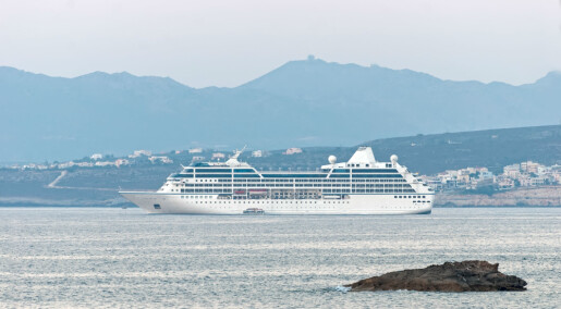 Cruiseskip skal brukes til vitenskapelige målinger