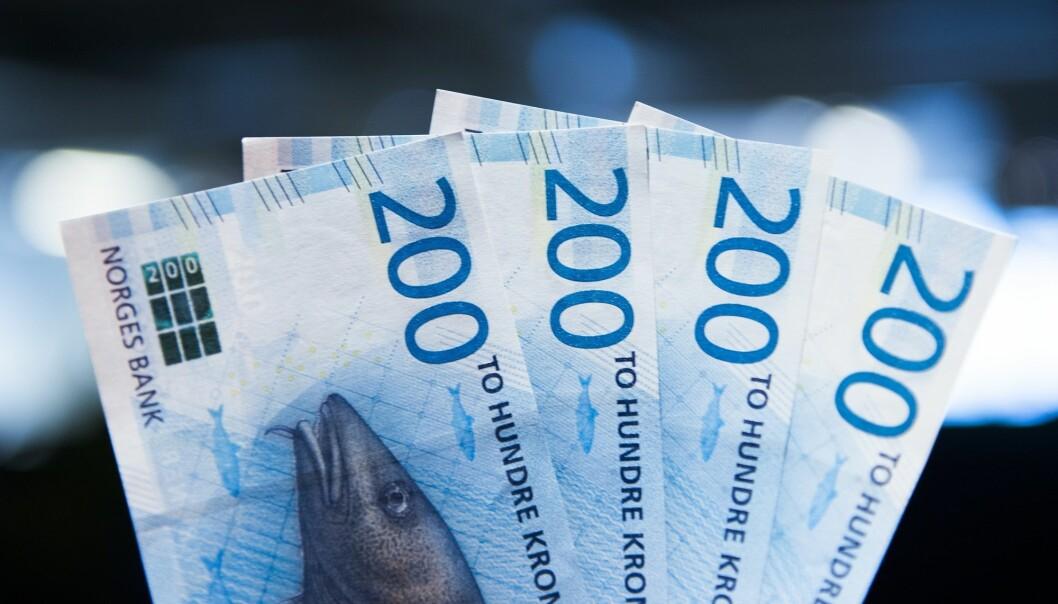 Danmark har antakelig verdens høyeste skattenivå. Hele 46 prosent av bruttonasjonalproduktet kreves inn som skatter og avgifter fra danskene. I Norge utgjør skatter og avgifter bare 38 prosent av BNP, ifølge OECD.  (Foto:  Jon Olav Nesvold, NTB scanpix)