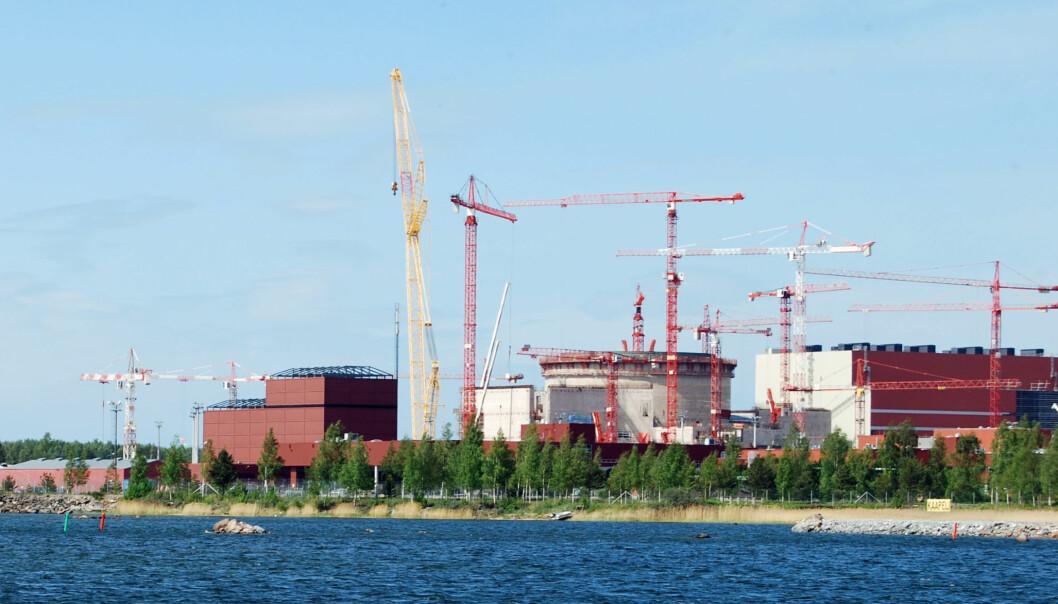 Olkiluoto kjernekraftverk produserer elektrisk kraft og ligger sørvest i Finland. (Foto: kallerna / Wikimedia Commons)
