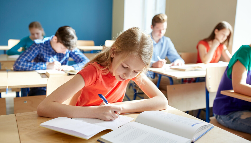 Forskere er bekymret for at skolene legger for stor vekt på de nasjonale prøvene. (Foto: Shutterstock / NTB Scanpix)