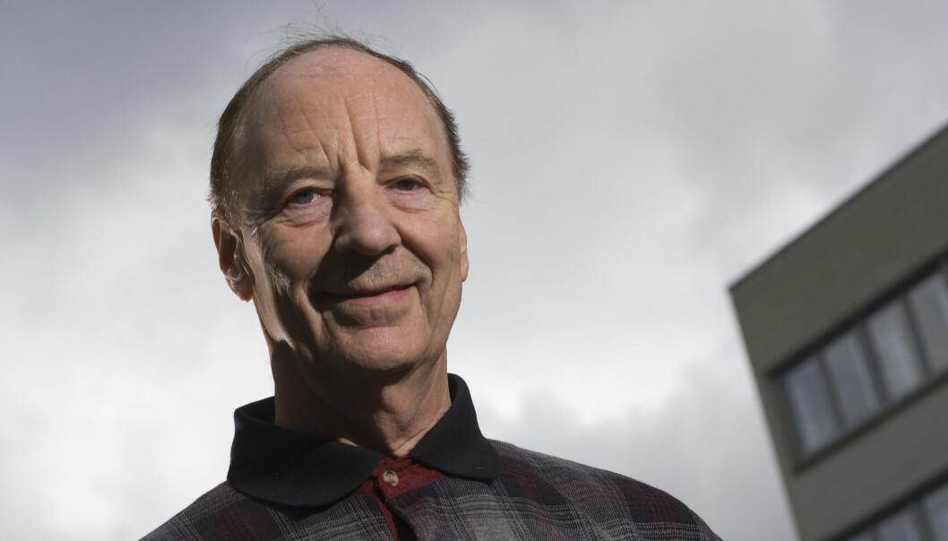 Egil Lillestøl fekk i 2007 Norges forskningsråd sin formidlingspris. Det ligg stor faglig kunnskap og sterk fagleg integritet bak formidlingsaktivitet hans, heitte det i grunngjevinga for prisen. (Foto: UiB)