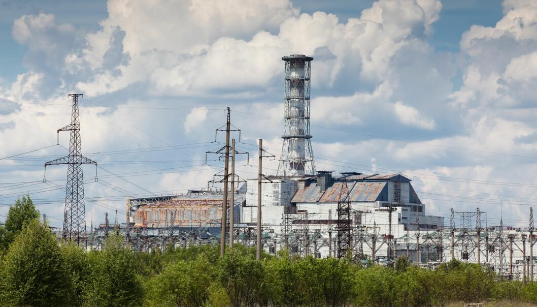 Tsjernobyl-kraftverket er ennå for mange synonymt med kjernekraft. Selv om denne reaktortypen aldri ville blitt bygget i Vesten, viser den hvor galt det kan gå hvis ulykken virkelig er ute ved et kjernekraftverk. (Foto: Colourbox)