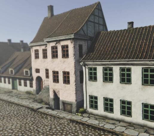 Se opp! Lyse fasader i Oslo havn i 1798