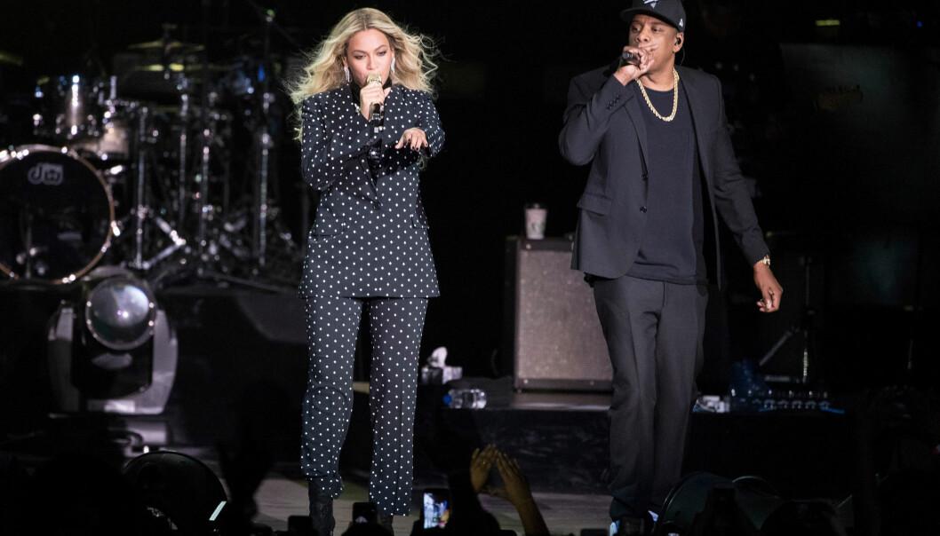Beyoncé og ektemannen Jay Z. Sistnevnte eier strømmeselskapet Tidal og kona er medeier. (Foto: Matt Rourke, AP, NTB scanpix)