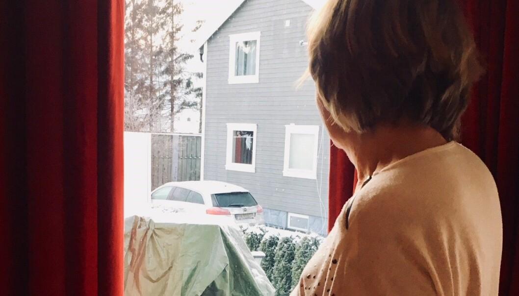 - Dette viser hvor useriøs forskeren er, sier Karin fra Drammen, som er en av kvinnene som ble rådet til å fjerne brystene fordi hun har genvarianten. Nå trekkes en studie som hevdet at genvarianten er kreftgivende, tilbake.  (Foto: Anne Lise Stranden/forskning.no)