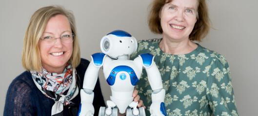 Denne roboten skal gjere språklæringa gøy for barna