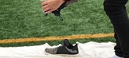 Fotballspillere drar med seg 65 tonn gummi fra banen hvert år