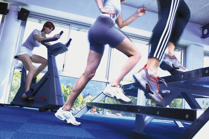 Menn som har vært behandlet for testikkelkreft, fikk ikke bare mer overskudd, men også bedre selvtillit av å trene. (Foto: NIH)