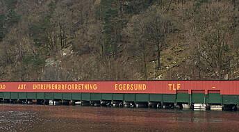 Utenfor Egersund finnes det nesten ingen forskjell på flo og fjære. Hvorfor er det slik?