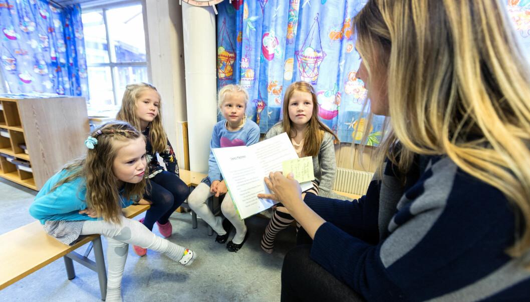 Mange som er ferske i vikarbyrå, jobber med utdanning. (Illustrasjonsfoto: Gorm Kallestad/NTB scanpix)