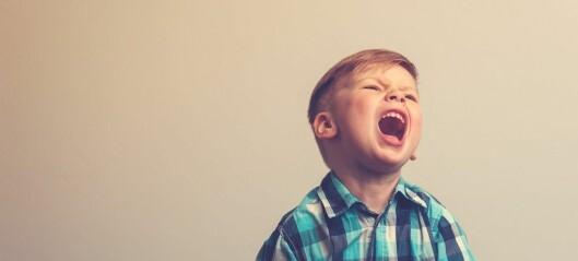 Barnets temperament: mer enn hissighet