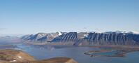 Isbreen gjorde fjorden til innsjø