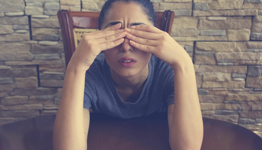 Hvor komme migrene-genene fra? (Illustrasjonsfoto: Tiko Aramyan / Shutterstock / NTB scanpix)