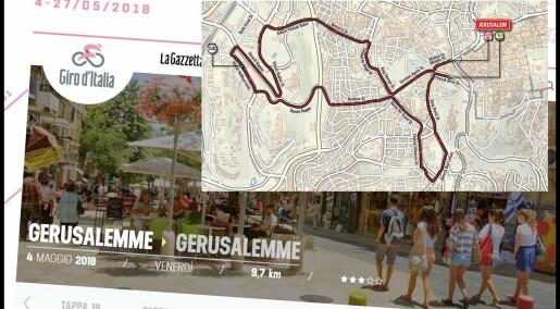 Giro d'Italia i Israel: – Idrett og politikk er alltid blandet sammen