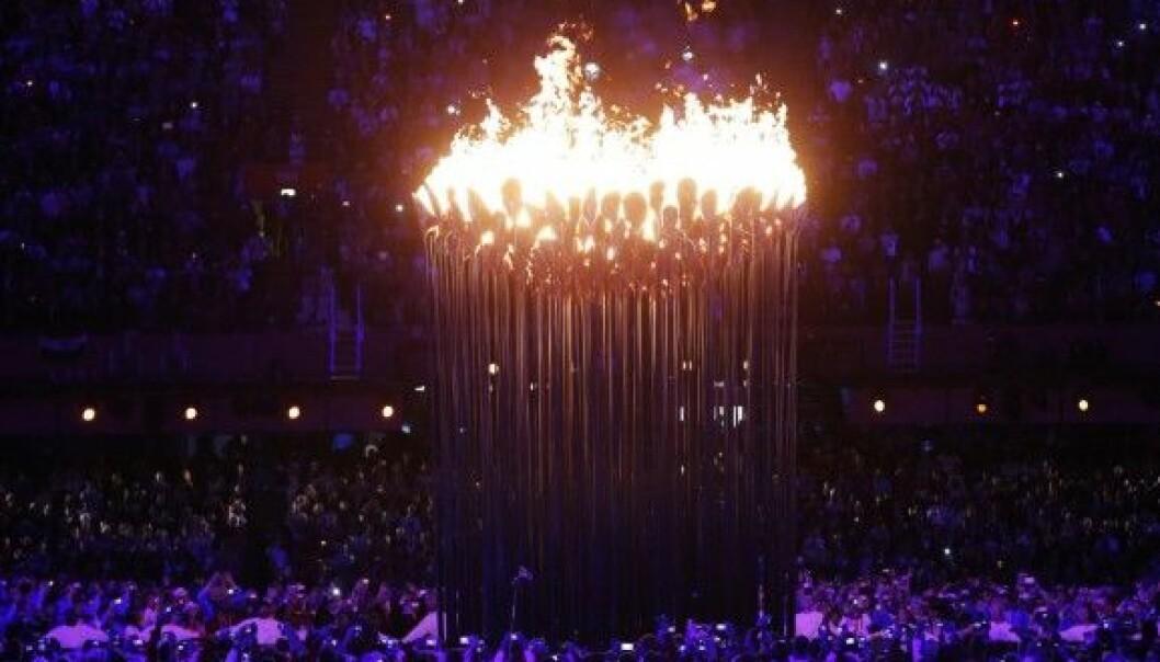Den olympiske ilden tennes i London 2012. Men antakelig har det ikke vært noen økonomisk gevinst for den britiske hovedstaden. (Foto: The Tennis Times Public domain via Wikimedia Commons)