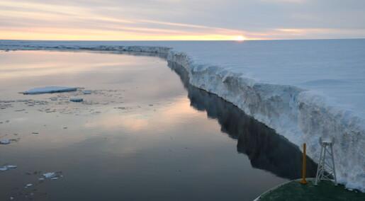 Vil isen i Antarktis smelte?