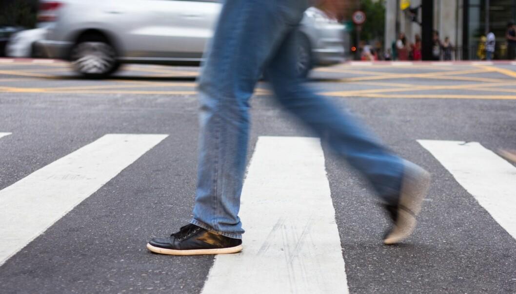 Hull i asfalten, såpeglatte fortau og snublekanter forårsaket flere tusen skader blant fotgjengere i Oslo i 2016. (Illustrasjonsfoto: Vergani Fotografia, Shutterstock, NTB scanpix)