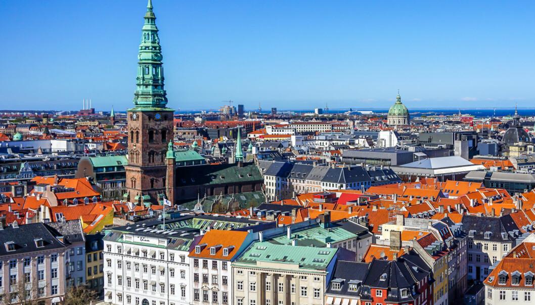 Det ser ikke så grønt ut i sentrum av København.  (Foto: Hamish Gray / Shutterstock / NTB scanpix)