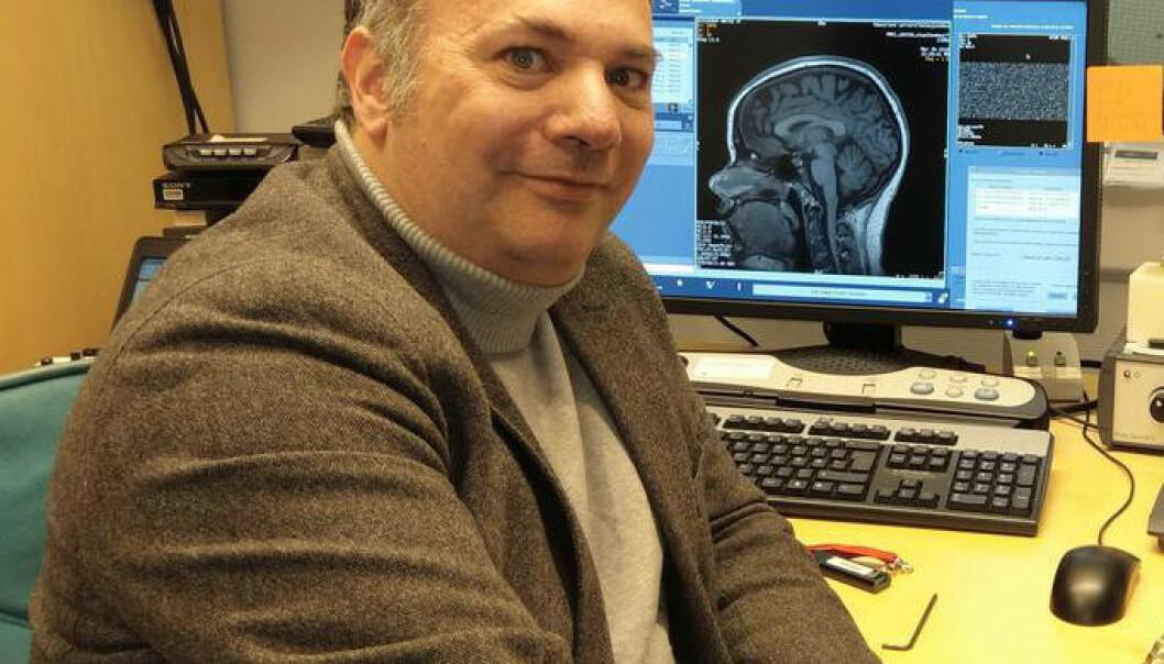Karsten Specht er forskningsleder ved Institutt for biologisk og medisinsk psykologi. (Foto: UiB)