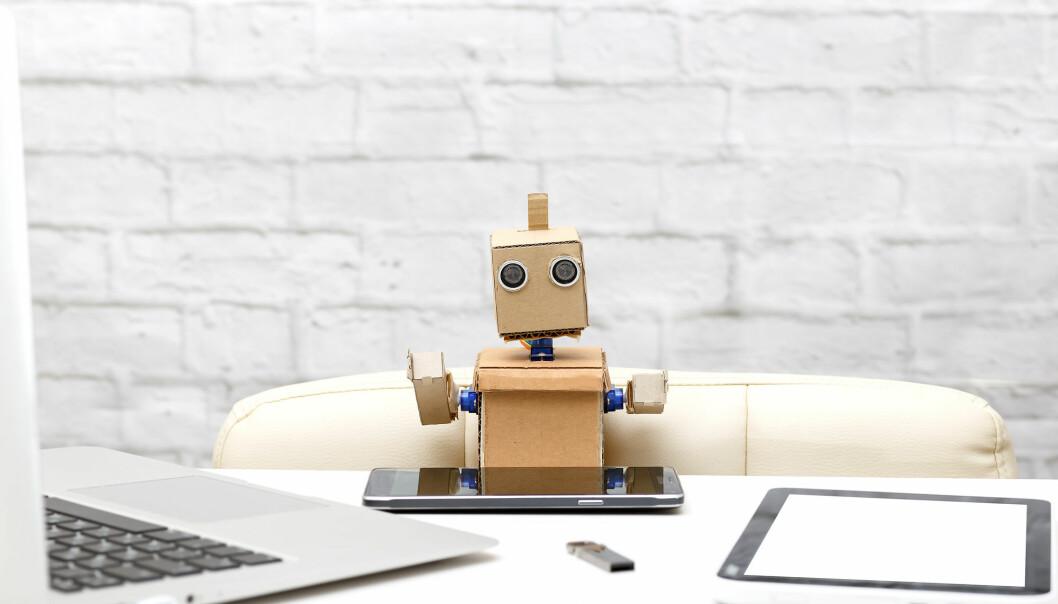 Liten og søt. Ikke i noe annet land har arbeidstagerne mindre å frykte fra roboter enn i Norge, ifølge en ny studie.  (Foto: Bas Nastassia / Shutterstock / NTB scanpix)