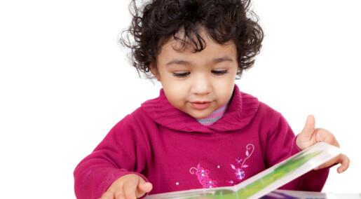 Bildebøker gir barnehagebarn bedre norskferdigheter