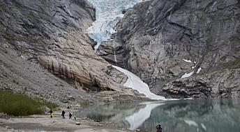 Hva skjer med samfunnet vårt når isbreene krymper?