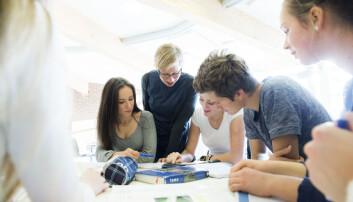 - Lærerne opplever at erfaringsutveksling øker forståelsen av hvordan elever kan inkluderes, skriver artikkelforfatterne (Foto: Berit Roald / NTB scanpix)