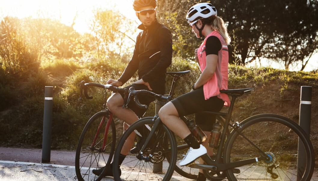 Uansett hvor romantisk det måtte være, ti mil på sykkelen gjør noe med underlivet. (Illustrasjonsfoto: Wayhome studio/Shutterstock/NTB scanpix)