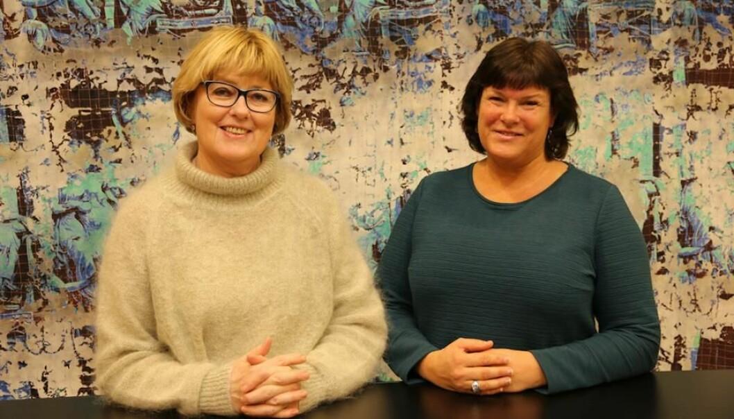 Ingrid Fossøy og Dorthea Sekkingstad. (Foto: Tove Takvam Uglum)