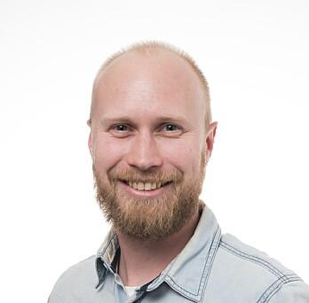 - Du skal ikke få en toer i å være deg selv, sier Morten Rustad ved NIH. (Foto: NIH)