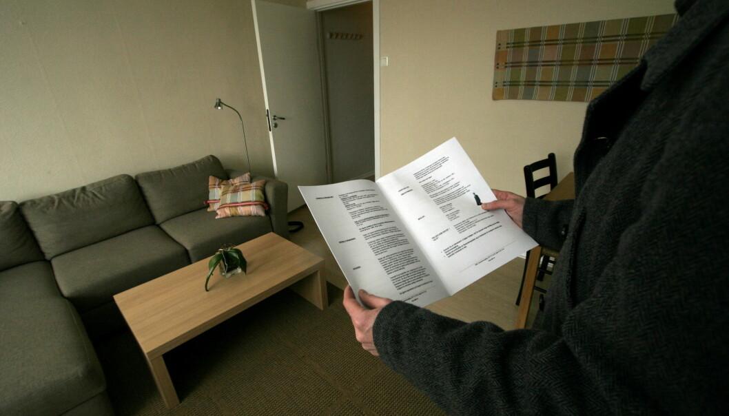 Det har blitt dyrere å kjøpe bolig de siste årene, og dermed må du også ha spart opp mer penger på forhånd. Det er vanskelig for den som såvidt får hverdagen til å gå rundt. (Foto: Jarl Fr. Erichsen/NTB scanpix)
