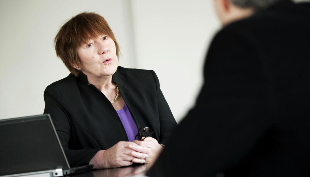 Kvinnelige ledere starter ut dårligere enn mennene, men klarer å ta igjen noe av forspranget i løpet av karrieren. (Foto: Jan Haas/NTB scanpix)