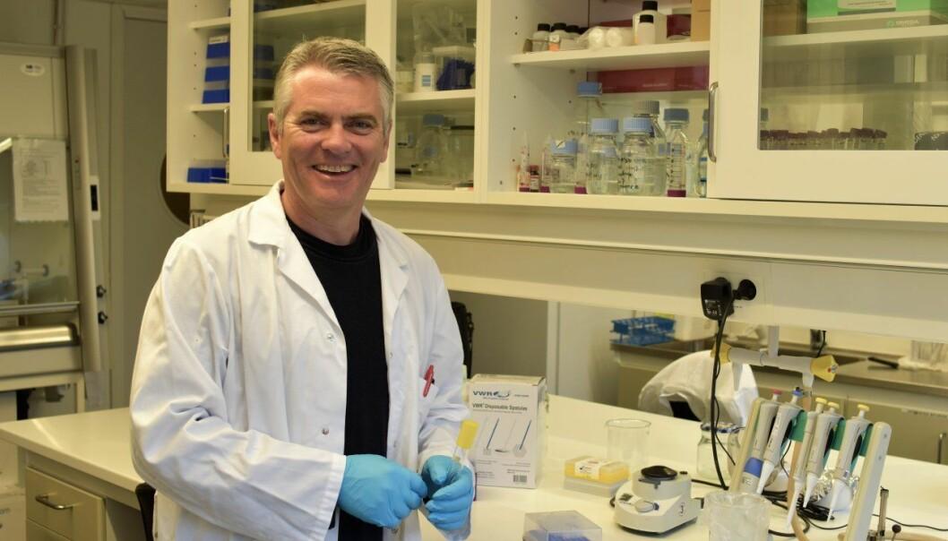 Forskningssjef Hans Geir Eiken ved NIBIO har undersøkt spredningen av resistente bakterier i norsk natur. (Foto: Siri Elise Dybdal)