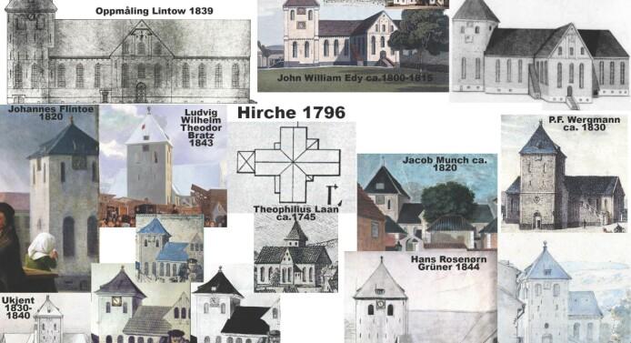 Domkirken i Christiania- kjent bygg, ukjent fasade