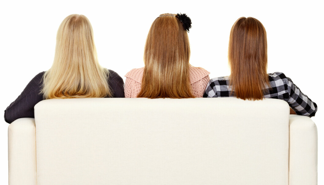 Genene forklarer så mye som 97 prosent av hårfargen. (Illustrasjonsfoto: pzAxe/Shutterstock/NTB scanpix)