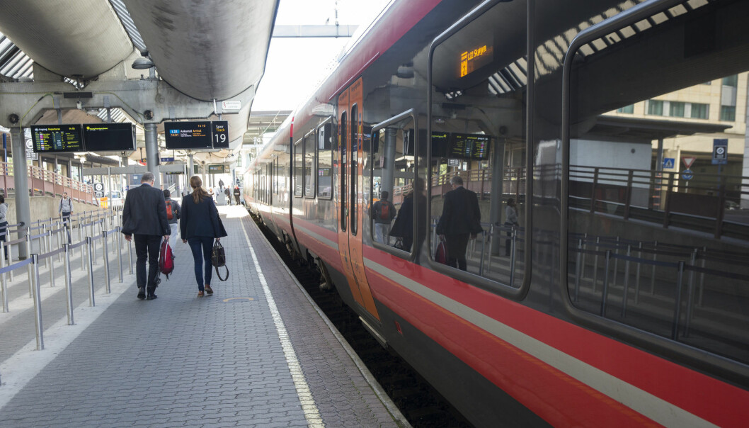 Svenske forskere: Flere tar toget hvis stasjonen ligger i byen