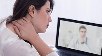 Gir akutt psykiatrisk hjelp via video