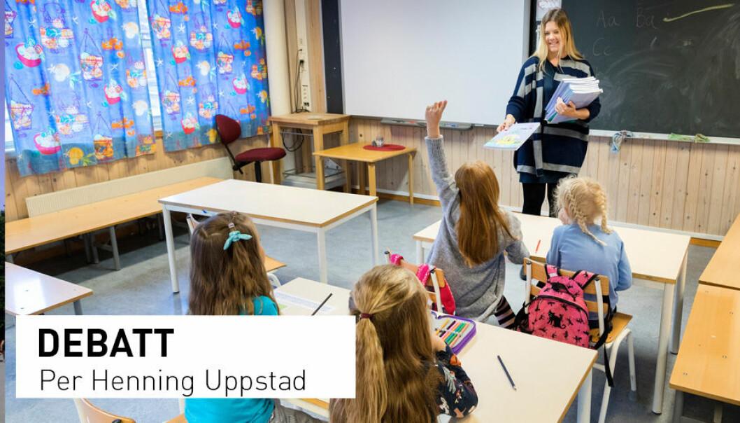 - Alle leseforskarar vil vere samde i at me treng meir publisert dokumentasjon, skriv Per Henning Uppstad. (Foto: Gorm Kallestad / NTB Scanpix)
