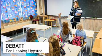 Debattinnlegg: Framover mot betre dokumentasjon på testar i skolen